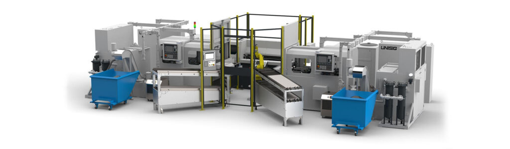 Rendering of a new manufacturing cell for Vortakt