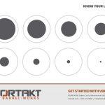 Vortakt Branded Target, Design 2